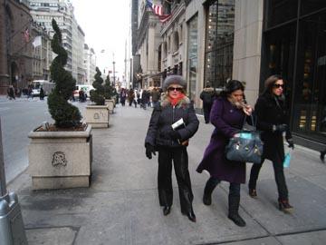 Shopping in NY