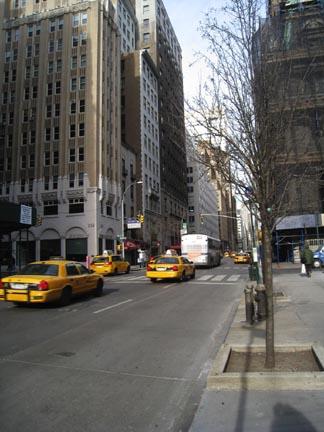 Ny street scene