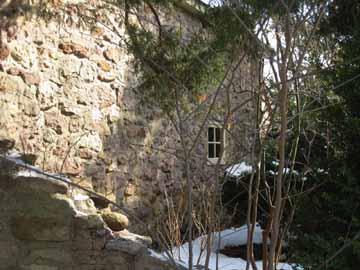 Stone farm window