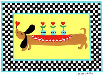 Spring hot dog
