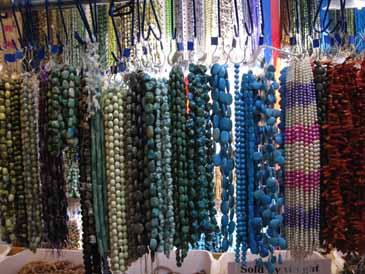 Blue tone beads