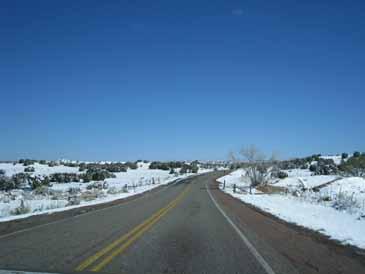 Road to chimayo