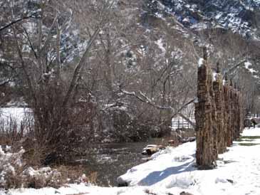 River in chimayo