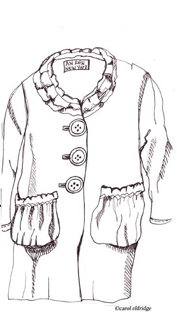 An ren coat sketch