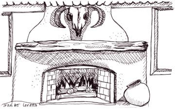 Fireplace inn at loretto