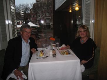 Birthday dinner with Kenny