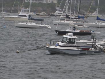Harbormaster's boat