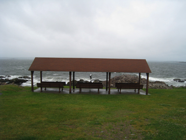 Benches at lighthouse