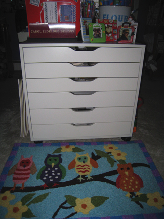 New flat files owl rug