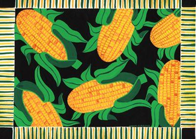Festive corn
