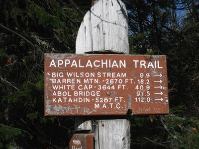 End of appalachian trail