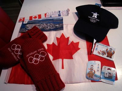 2010 Olympic souvenirs
