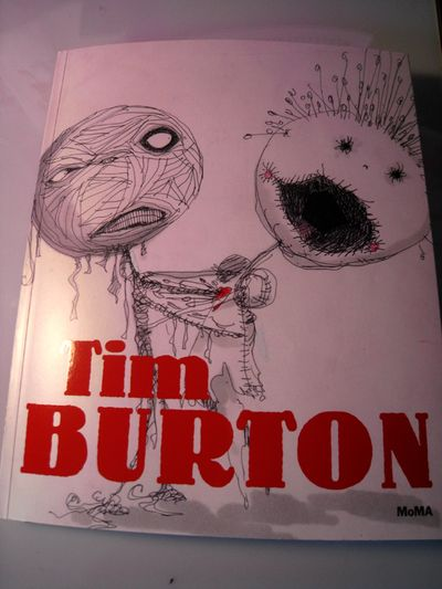 Tim burton show book