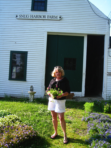 Me at snug harbor farm