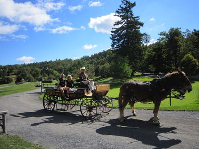 Carriage ride mohonk