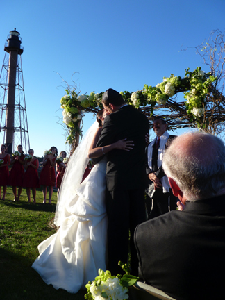 Married at the lighthouse