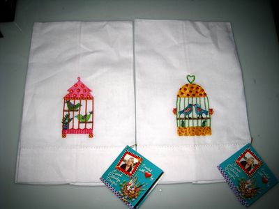 Bird cage towels