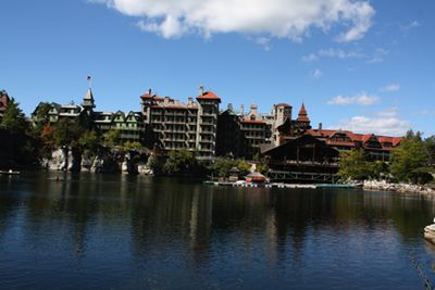Mohonk from the lake