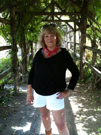Me in the arbor