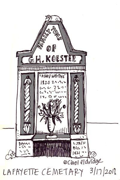Lafayette tomb