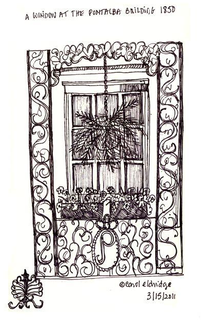 Pontalba window