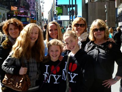 New york with the girls