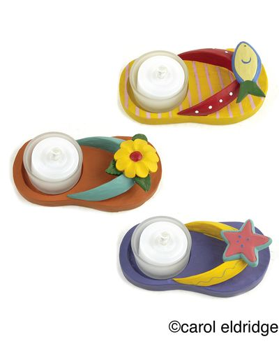 Flip flop votives