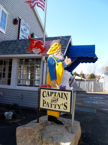 Captain and Patty's sign