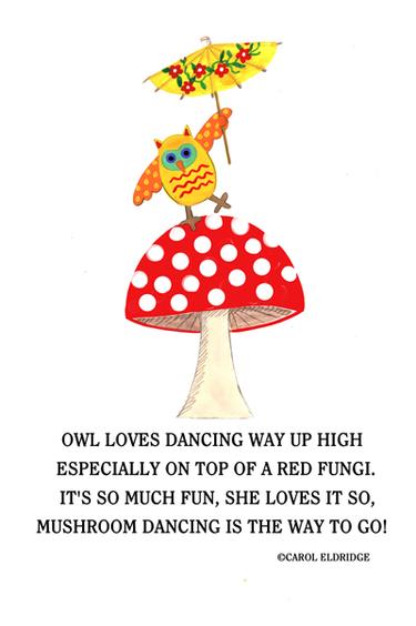Owl_on_mushroom